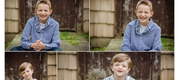 Lovely Charlotte NC Family Photographer, Carolyn Ann Ryan, creates portraits of brothers for a Fall Family Portrait Session